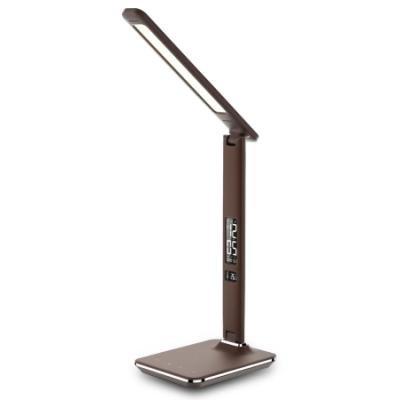 Stolní lampička IMMAX Kingfisher 9 W hnědá