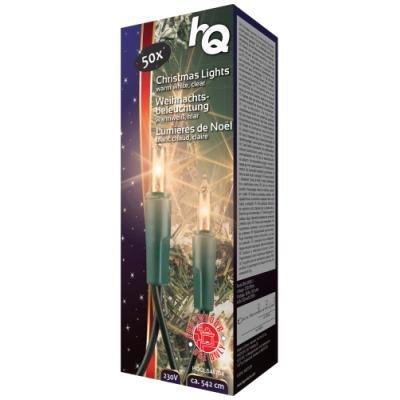 Vánoční osvětlení HQ 50x žárovka 5,42 m
