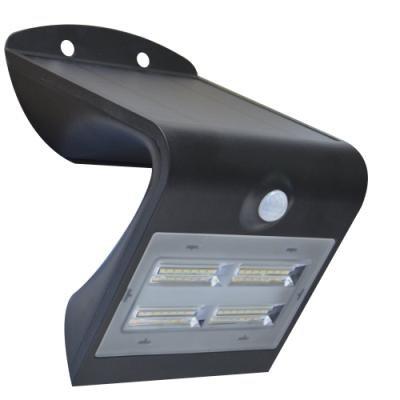 LED reflektor IMMAX solární s čidlem 3,2W černý