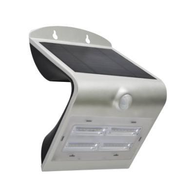 LED reflektor IMMAX solární s čidem 3,2W stříbrný