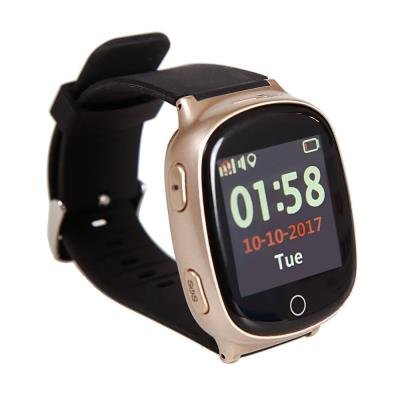 OPRAVENÉ - HELMER seniorské hodinky LK 705 s GPS lokátorem/ dot. display/ snímač srdečního tepu/ micro SIM/ IP65/ kom. s...