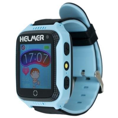 OPRAVENÉ - HELMER dětské hodinky LK 707 s GPS lokátorem/ dotykový display/ IP65/ micro SIM/ kompatibilní s Android a iOS...