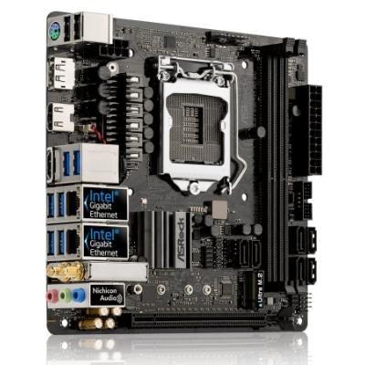 OPRAVENÉ - ASRock Z370M-ITX/AC/ LGA1151 / 2x DDR4 DIMM  / 2x HDMI / DP / mini-ITX