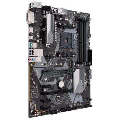 ASUS PRIME B450-PLUS / B450 / AM4 / 4x DDR4 DIMM / M.2 / DVI-D / HDMI / ATX