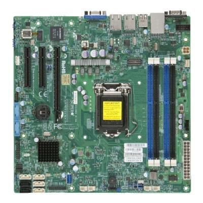 SUPERMICRO MB 1xLGA1150, iC224,DDR3,4xSATA3,2xSATA2,(2x PCI-E3.0 x8,1x PCI-E2.0 x4), IPMI (retail)