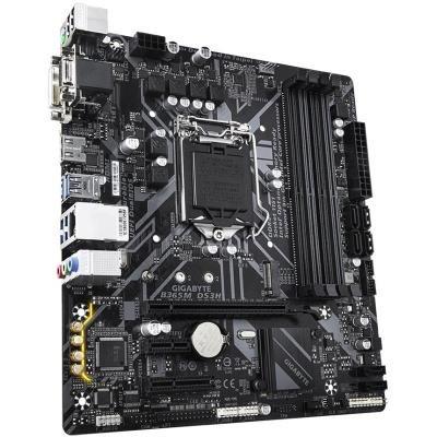 GIGABYTE B365M DS3H / Intel B365 / LGA 1151 / 4x DDR4 DIMM / M.2 / VGA / DVI-D / HDMI