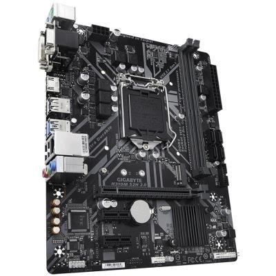 GIGABYTE H310M S2H rev 2.0 / Intel H310 / LGA 1151 / 2x DDR4 DIMM / M.2 / VGA / DVI-D / HDMI / mATX