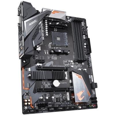 OPRAVENÉ - GIGABYTE B450 AORUS ELITE / AMD B450 / AM4 / 4x DDR4 DIMM / DVI-D / HDMI / M.2 / ATX