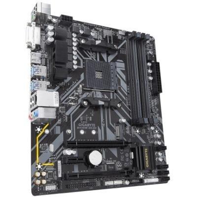 GIGABYTE B450M DS3H / AMD B450 / AM4 / 4x DDR4 DIMM / DVI-D / HDMI / M.2 / mATX