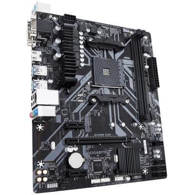 GIGABYTE B450M S2H / AMD B450 / AM4 / 2x DDR4 DIMM / VGA / DVI-D / HDMI / M.2 / mATX