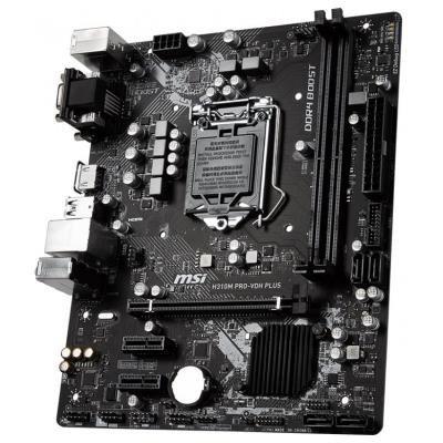 OPRAVENÉ - MSI H310M PRO-VDH PLUS / LGA1151 / H310 / 2x DDR4 DIMM / DVI / HDMI / mATX