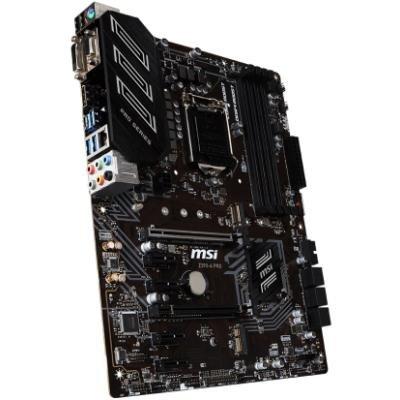 MSI Z390-A PRO / LGA1151 / Intel Z390 / 4x DDR4 DIMM / D-Sub / DVI-D / DP / USB Type-C / ATX