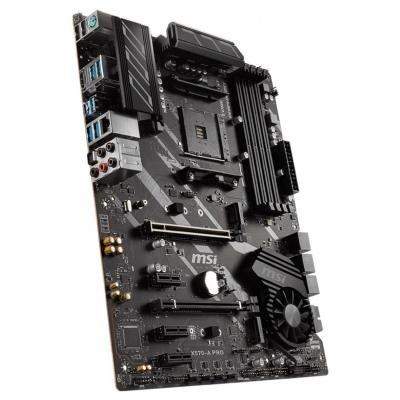 MSI X570-A PRO / X570 / AM4 / 4x DDR4 DIMM / 2x M.2 / HDMI / ATX