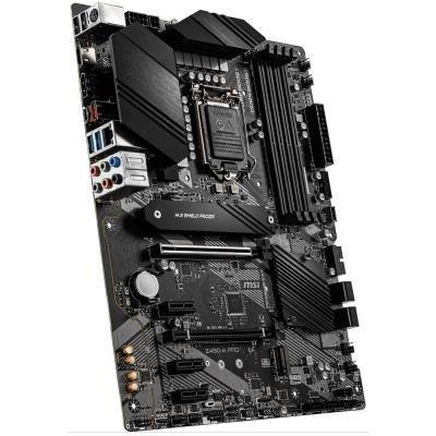 MSI Z490-A PRO / LGA1200 / Intel Z490 / 4x DDR4 DIMM / 2x M.2 / USB Type-C / HDMI / DP / ATX