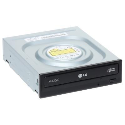 OPRAVENÉ - LG DVD±R/±RW/RAM, GH24NS 24x SATA, M-disc/ černá bulk