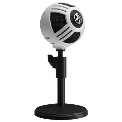 Mikrofon Arozzi SFERA bílo-černý