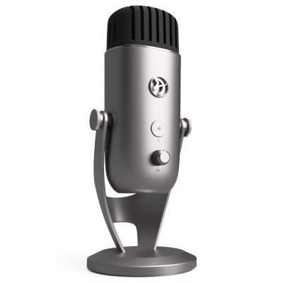Mikrofon Arozzi COLONNA stříbrno-černý
