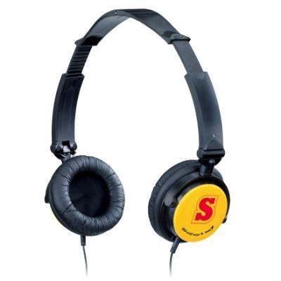Sluchátka Genius GHP-410F černo-oranžová