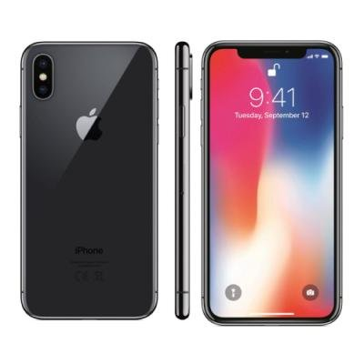 Mobilní telefon Apple iPhone X 64GB šedý