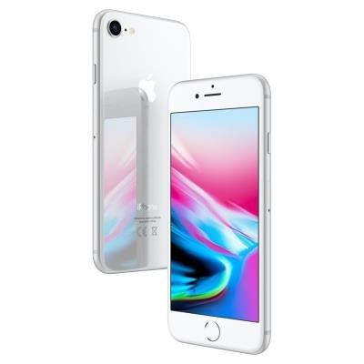 Mobilní telefon Apple iPhone 8 128GB stříbrný