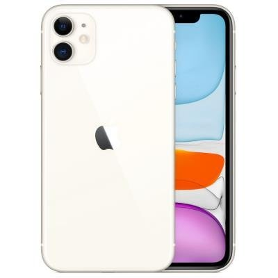 "Apple iPhone 11 64GB White   6,1"" IPS/ 4GB RAM/ LTE/ IP68/ iOS 13"