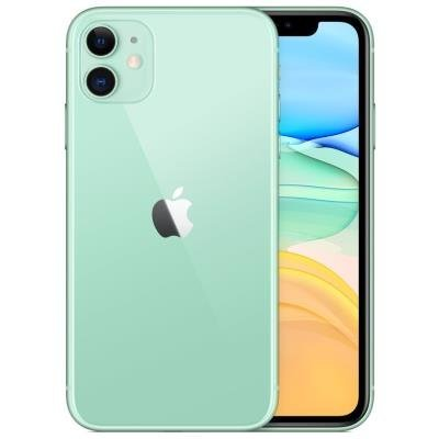 "Apple iPhone 11 64GB Green   6,1"" IPS/ 4GB RAM/ LTE/ IP68/ iOS 13"