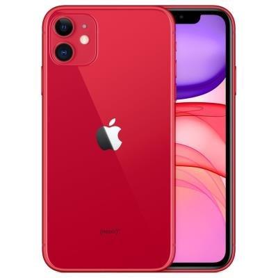 Mobilní telefon Apple iPhone 11 256GB červený