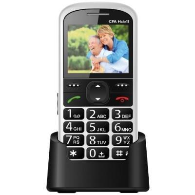 Mobilní telefon CPA Halo 11 bílý