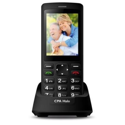 Mobilní telefon CPA Halo Plus černý