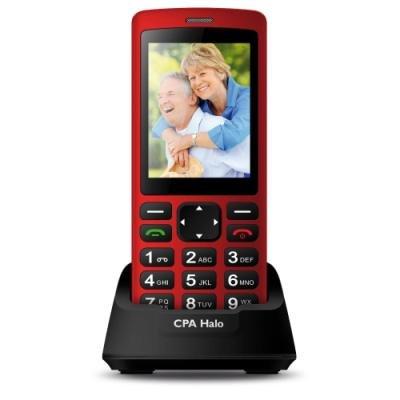 Mobilní telefon CPA Halo Plus červený