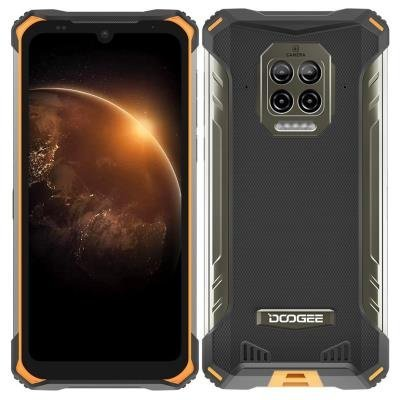 Doogee S86 oranžovo-černý