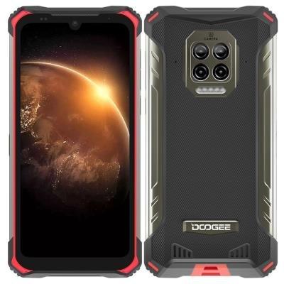 Doogee S86 červeno-černý
