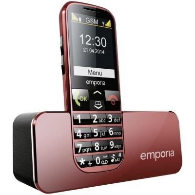 Mobilní telefon Emporia ECO červený