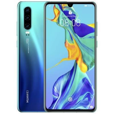 "HUAWEI P30 - Gradient blue   6,1"" FHD+/ 128GB/ 6GB RAM/ foto zadní 40+16+8Mpx, přední 32Mpx/ LTE/ Android 9"