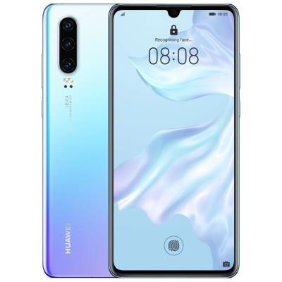 Mobilní telefon Huawei P30 bílo-modrý