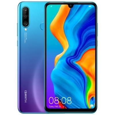 Mobilní telefon Huawei P30 Lite modro-fialový