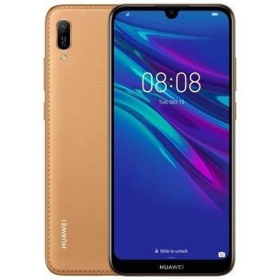 Mobilní telefon Huawei Y6 2019 hnědý