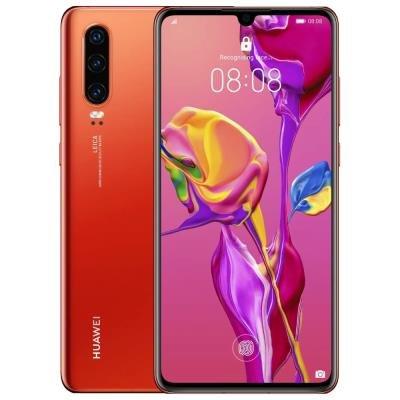 Mobilní telefon Huawei P30 červený