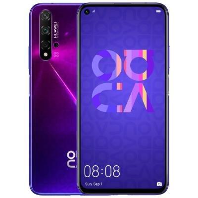 Mobilní telefon Huawei Nova 5T fialový