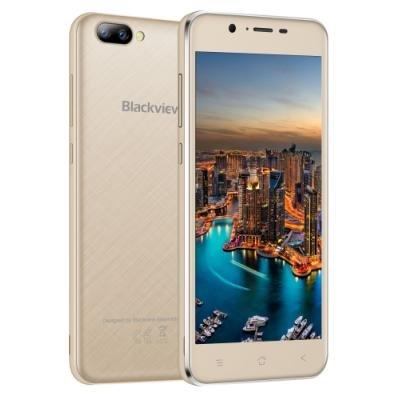 Mobilní telefon iGET Blackview GA7 zlatý
