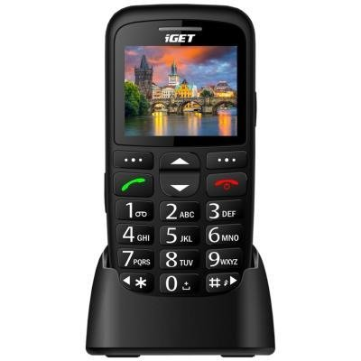 Mobilní telefon iGET Simple D7 černý