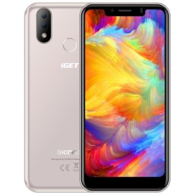Mobilní telefon iGET Ekinox E6 zlatý