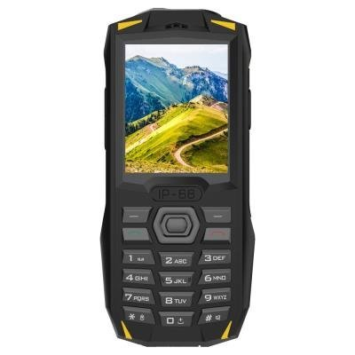 iGET Blackview GBV1000 - Yellow   odolný telefon 2,4