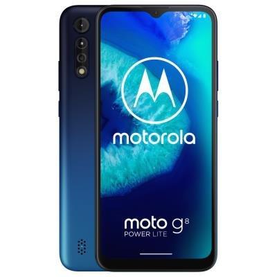 """Motorola Moto G8 Power Lite - royal blue   6,5"""" IPS/ Dual SIM/ 4GB/ 64GB/ LTE/ Android 9"""