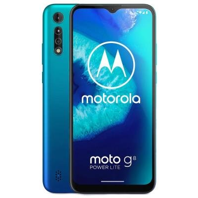 "Motorola Moto G8 Power Lite - arctic blue   6,5"" IPS/ Dual SIM/ 4GB/ 64GB/ LTE/ Android 9"
