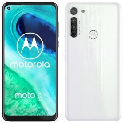 "Motorola Moto G8 - pearl white   6,4"" IPS/ Dual SIM/ 4GB/ 64GB/ LTE/ Android 10"