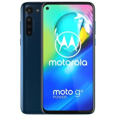 "Motorola Moto G8 Power - capri blue   6,4"" IPS/ Dual SIM/ 4GB/ 64GB/ LTE/ Android 10"