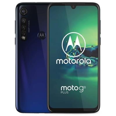 """Motorola Moto G8 Plus - cosmic blue   6,3"""" IPS/ Dual SIM/ 4GB/ 64GB/ LTE/ Android 9"""