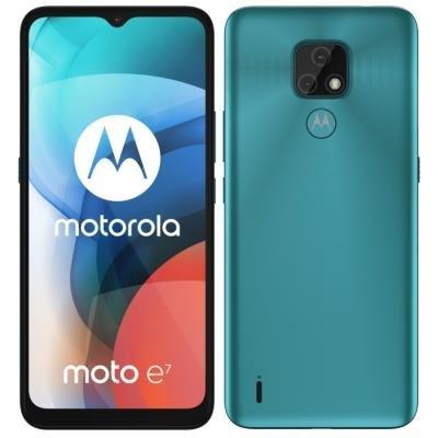 Motorola Moto E7 modrý