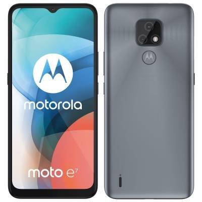 Motorola Moto E7 šedý